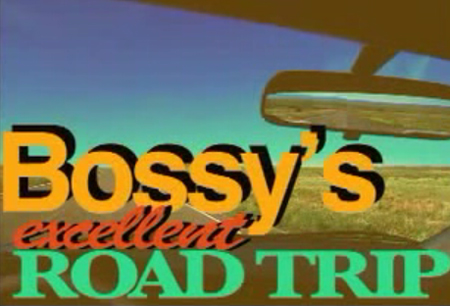 Bossy is going to travel around the continental U.S. to visit her Bloggy friends in the Spring/Summer of '08.