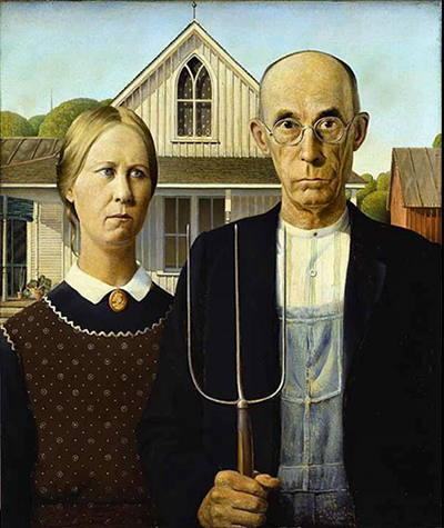 American Gothic Vs American Goth Ick