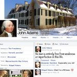 And Now For The First Edition Of: Our Founding Fathers On Facebook