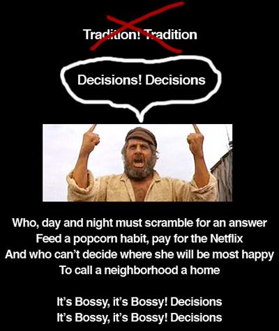 Decisions, Decisions!
